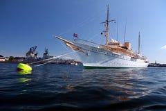 Yacht Copenhaghen di Royale Fotografie Stock Libere da Diritti
