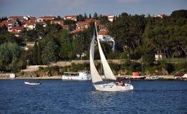 Yacht croatia Stock Photos