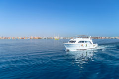 Yacht cruise on Red Sea Stock Image
