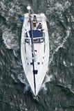 Yacht da sopra immagine stock