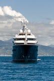 Yacht dans Portofino Photographie stock libre de droits
