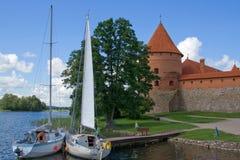 yacht de château Photos libres de droits