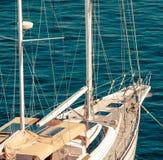yacht de croisière image stock