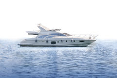 Yacht de luxe illustration stock