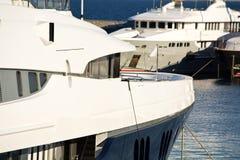 Yacht de luxe de moteur Photo stock