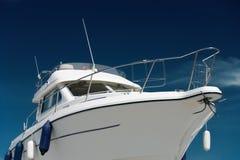 Yacht de moteur Image libre de droits