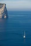 Yacht de navigation image stock