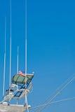 yacht de pêche de carlingue d'atennas Photographie stock