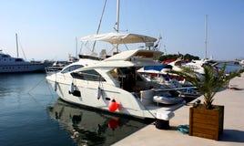 Yacht de Privet Photo libre de droits