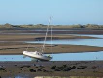 yacht de reflux Photographie stock libre de droits
