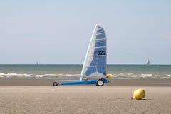 Yacht de sable Photos stock