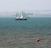Yacht de schooner Photos libres de droits