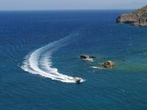 Yacht de vitesse Photo libre de droits