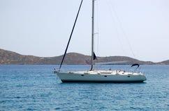 Yacht de voile de récréation Image libre de droits