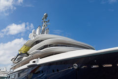 Yacht Decks from Below Royalty Free Stock Images
