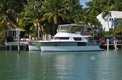 Yacht del catamarano Fotografia Stock Libera da Diritti