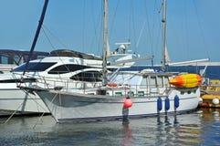 Yacht del motore Fotografia Stock Libera da Diritti