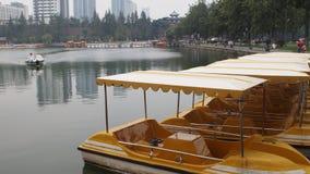 Yacht del parco Fotografia Stock
