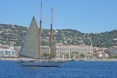 Yacht dell'annata immagini stock libere da diritti