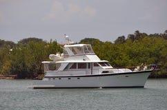 Yacht dell'annata fotografie stock