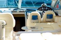 Yacht dell'interno Fotografia Stock Libera da Diritti