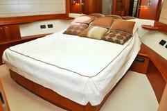 Yacht della camera da letto Fotografia Stock Libera da Diritti