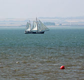 Yacht della goletta Fotografie Stock Libere da Diritti