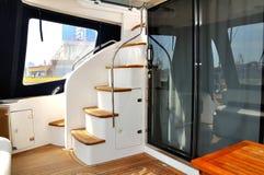 Yacht della scaletta. Fotografie Stock