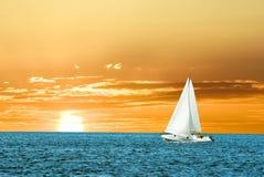 Yacht della vela Fotografie Stock