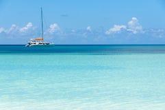 Yacht delle Seychelles fotografia stock libera da diritti