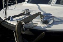 Yacht-Details Lizenzfreie Stockfotos