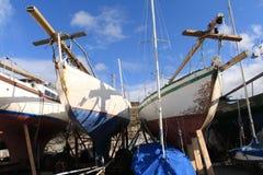 Yacht di Dublino Immagine Stock Libera da Diritti