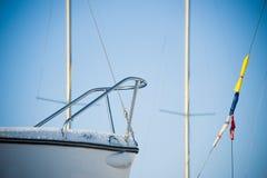 Yacht di inverno Fotografia Stock Libera da Diritti