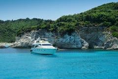 Yacht di lusso Fotografia Stock Libera da Diritti