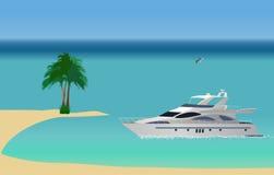 Yacht di lusso Royalty Illustrazione gratis