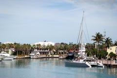 Yacht di lusso al giorno di estate immagine stock libera da diritti