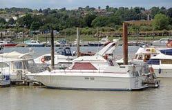 Yacht di lusso su The Creek Fotografie Stock