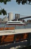 Yacht di New York Fotografia Stock Libera da Diritti