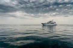 Yacht di pesca immagine stock