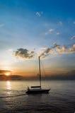 Yacht di piacere immagine stock