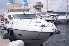 Yacht di Privet Fotografia Stock