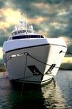Yacht di Sunseeker a DIBS Immagini Stock