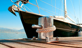 Free Yacht Docked In The Marina Royalty Free Stock Images - 31520479