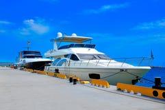 Yacht due Immagini Stock