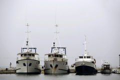 Yacht e barche Fotografie Stock