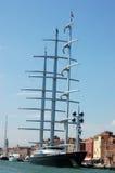 Yacht eccellente del falco maltese Fotografia Stock Libera da Diritti
