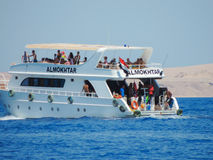 Yacht in Egypt, Sharm el Sheikh Stock Photo