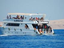Yacht in Egypt, Sharm el Sheikh Stock Photo