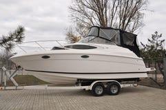 yacht för affärsgrupp Royaltyfri Fotografi