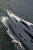 yacht för främre del s Royaltyfri Fotografi